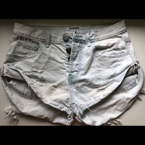 OneTeaspoon bandits light wash SZ 26